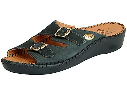 Dr. Scholl's Women's Dark Green Fashion Sandal - 5 UK