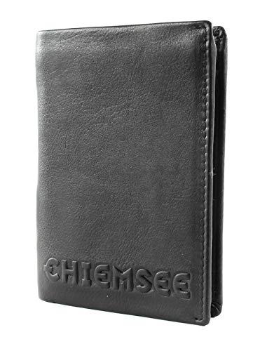 Chiemsee Geldbörse Laos Echt Leder schwarz Herren - 020288