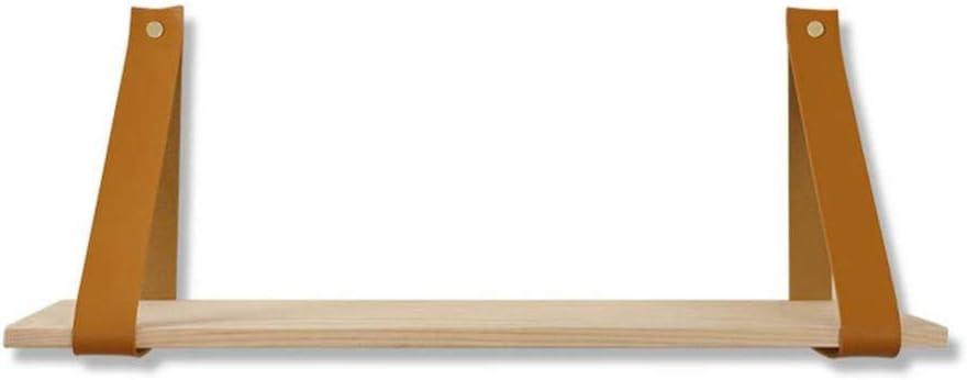 Over item handling ☆ Latest item 45CM Wood Wall Shelf Mounted Swing Wal Rope Hanging Shelves