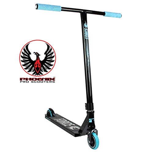 Phoenix Force Pro Scooter (Black/Neon Blue)