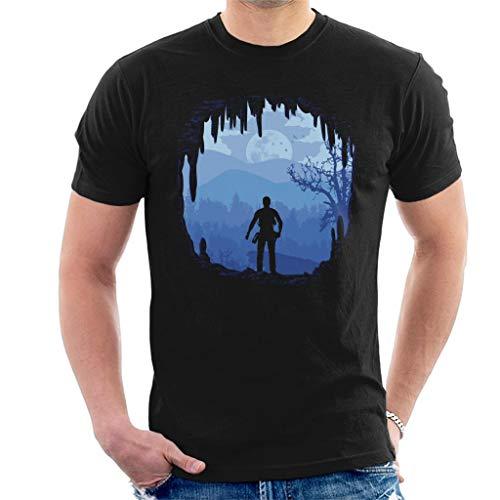 Cloud City 7 Hideout Uncharted 4 Men's T-Shirt