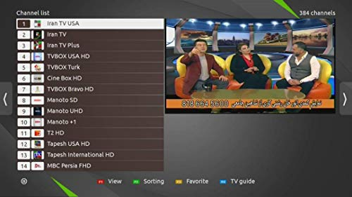 Persian TV Box, Iranian IPTV, Fully License Unlimited Package GEM IRIB Manoto, Turkish, Afghan, Kurdish, Arabic, Armenian, Assyrian, English, Much Better Than GL WIZeh