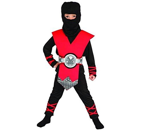 Ninja rouge Lux enfants Costume