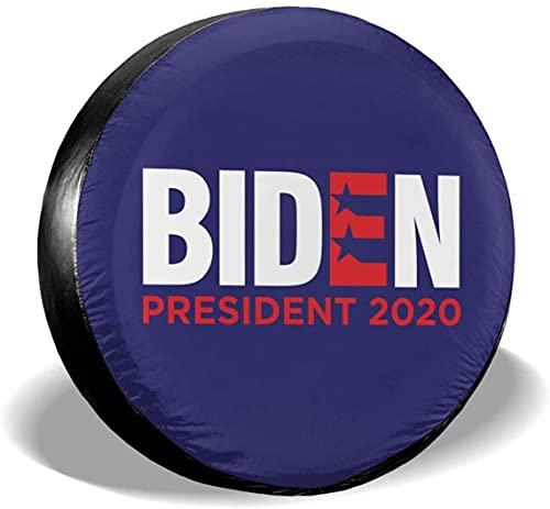 MODORSAN Biden 2020 Cubierta de neumático de Repuesto,poliéster,Universal,de 15 Pulgadas,Cubierta de neumático de Rueda de Repuesto para Remolque,RV,SUV,camión,camión,Camper,Viaje,Remolque,Accesorios