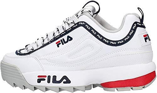 Fila Damen Sneakers Heritage Disruptor Logo weiß 37