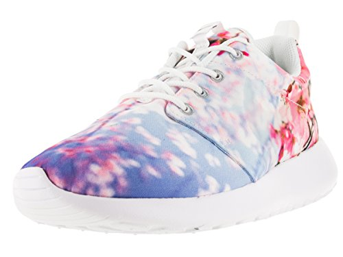 Nike Wmns Roshe One Cherry BLS, Scarpe da Fitness Donna, Bianco (White Pure Platinum 001), 42.5 EU