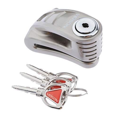 Generic DX15 Motorrad Anti Diebstahl Scheibenbremssperre für Motorrad Motorroller mit Schlüssel