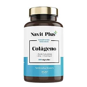 ➤COLÁGENO HIDROLIZADO: Nuestra fórmula de Colágeno incluye Ácido Hialurónico, Zinc y Vitamina C. Contiene 100 capsulas del mejor colágeno, patentado bajo el nombre VERISOL. El cual cuenta con estudios clínicos y eficacia comprobada. ➤PIEL HIDRATADA C...