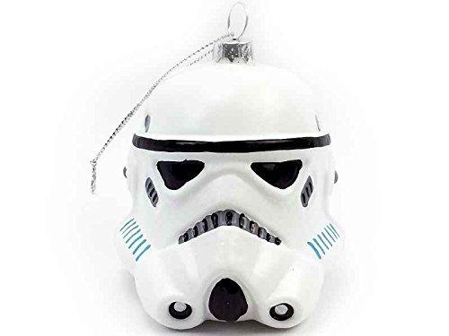 Baumkugel Star Wars (TM) Stormtrooper - Weihnachtskugel für Star Wars Fans - Weihnachtsdeko
