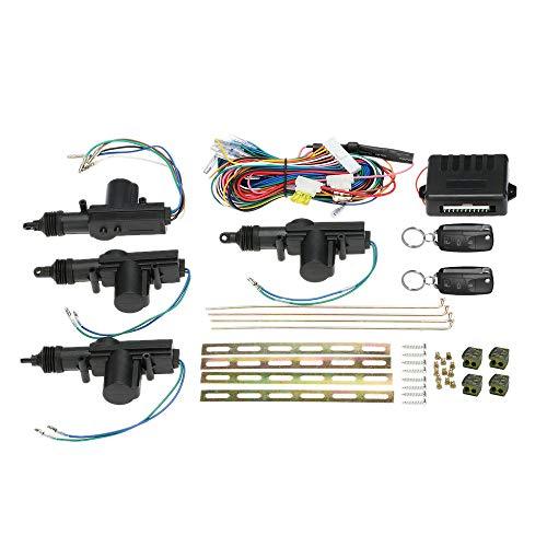 KKmoon Universal Autotürschloss Keyless Entry System Zentralverriegelung mit Kofferraumentriegelungsknopf