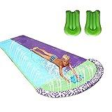 ORTUH Rasen Wasserrutschen für Kinder und Erwachsene mit 2 Aquaplane, Garten Spaß...