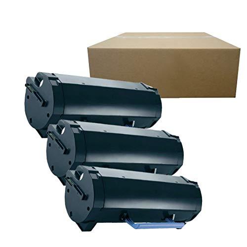 Inktoneram Compatible Toner Cartridges Replacement for Dell B2360dn B2360d B3460dn B3465dn B3465dnf M11XH [8,500 Pages] High Yield (Black, 3-Pack)