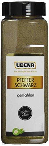 Ubena Pfeffer schwarz Gemahlen 600 g, 1er Pack (1 x 0.6 kg)