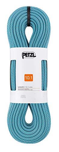 PETZL Mambo 10.1 mm, Corda Unisex-Adulto, Turchese, 50 m