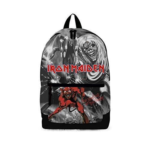 Unbekannt Iron Maiden Beast Pocket (Classic Rucksack) Rocksax