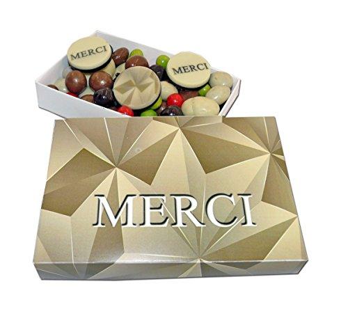 Ballotin de chocolat - COFFRET CADEAU LISEA MM - CHOCOLAT ARTISANAL 165g - COFFRET CADEAU CHOCOLAT (Merci remerciements Origami)