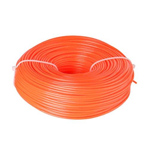 WIFUN Rasentrimmerschnur, Nylon, Trimmerfaden, geeignet für mittelgroße elektrische Trimmmaschine