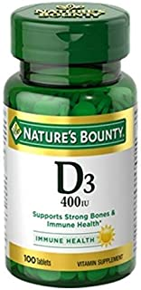 Nature's Bounty, D 400 Iu Tablets, 100 ct