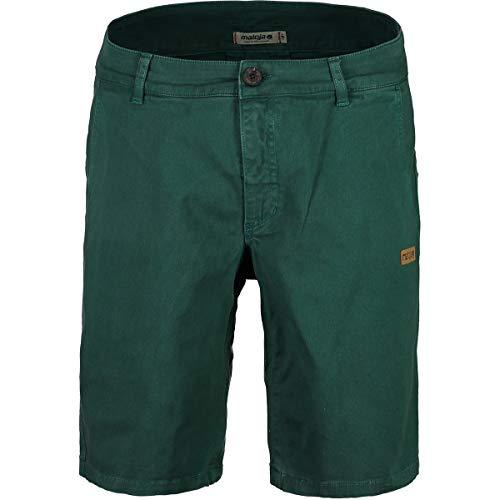 Maloja Herren 27536 Sport Shorts, Grün (Stone Pine 8205), 40 (Herstellergröße: Large)