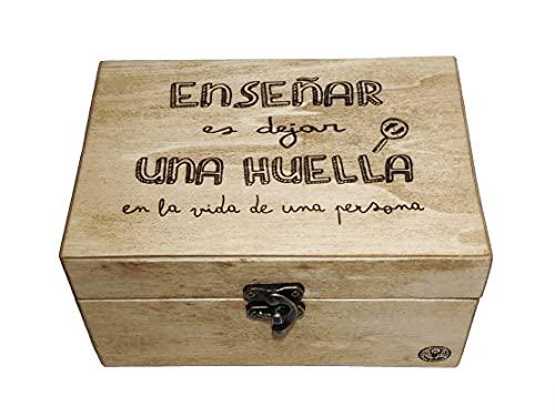Caja de madera personalizada. Varios tamaños disponibles