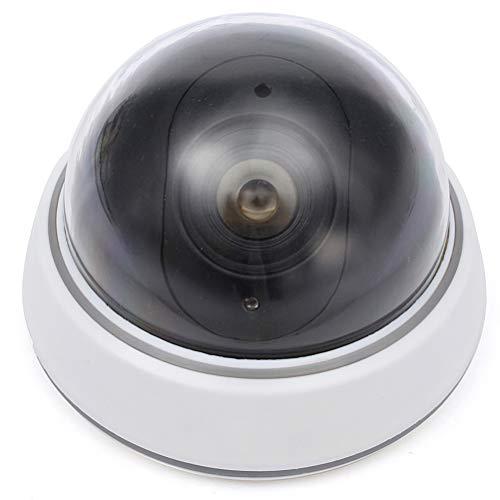 Roexboz Cámara de vigilancia falsa de seguridad CCTV, monitor de simulación, cámara de vigilancia falsa para supermercado, hotel, aparcamiento