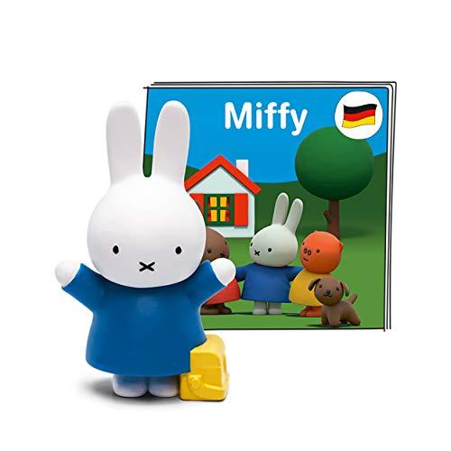 tonies Hörfigur für Toniebox, Miffy, Hörspiel mit 10 kleinen und großen Abenteuern, für Kinder ab 3 Jahren, Spielzeit ca. 70 Minuten
