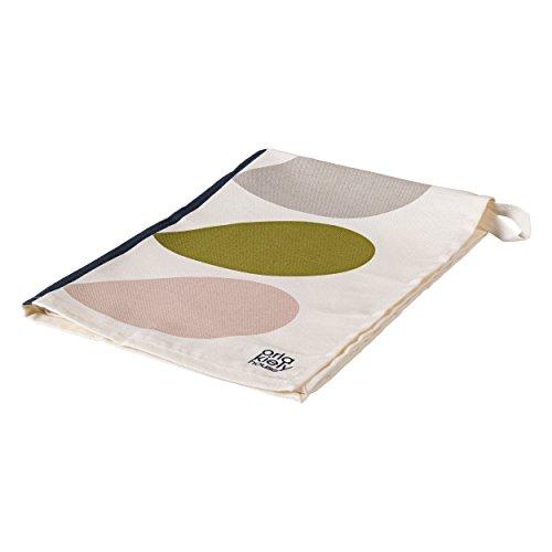 Orla Kiely | Set of 2 Tea Towels | Slate | Multi Stem Design | Includes Hanging Loop | 100% Cotton