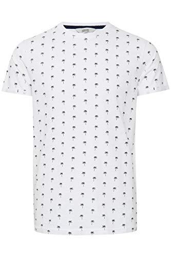 !Solid Jarvis - Camiseta de cuello redondo para hombre Blanco (110601) M