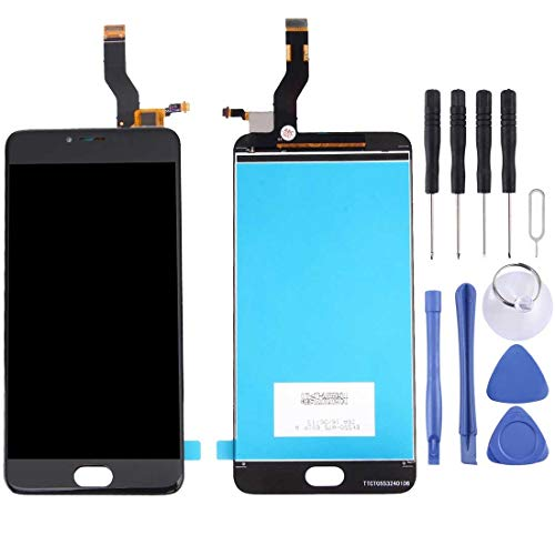 REPUESTOSMEIZUS Repuestos for MEIZU Meizu M3 Note/Meilan Note 3 (Versión Internacional) / L681H Pantalla LCD Ensamblaje de Pantalla táctil digitalizador (Color : Black)