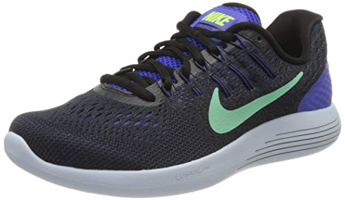 Nike Wmns Lunarglide 8, Scarpe Running Donna, Viola (Persian Violet/Black/Dark Purple Dust/Green Glow), 39 EU