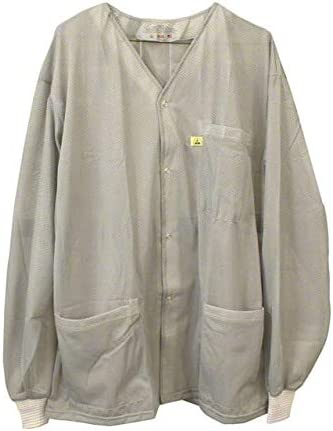 SCS SMOCK JACKET GRY KNITTED 5XL 770028 (Pack of 2)