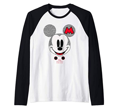 Disney Year of the Mouse Mickey Mouse Club October Camiseta Manga Raglan