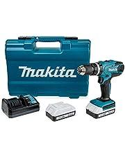 Makita HP457DWE10 accu-slagboorschroevendraaierset incl. 74-delig toebehoren