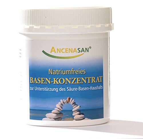 ANCENASAN® natriumfreies Basenkonzentrat / Mischung aus Mineralstoffkomplexen zur Unterstützung des Säure-Basen-Haushalts (200 g)