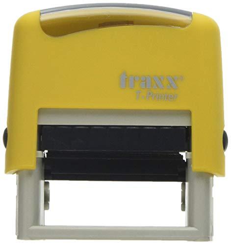 Traxx t-printer (es) self Inking stock testo timbro Contabilizado (1016)