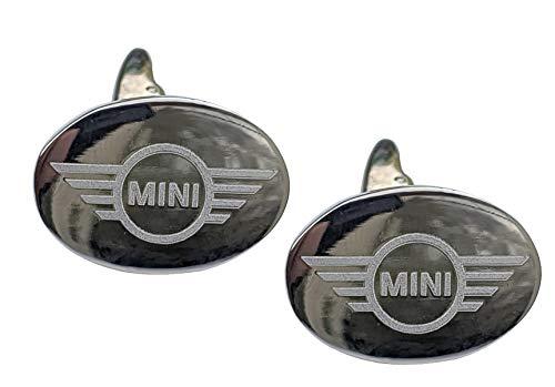 Gravierte Manschettenknöpfe für Mini mit Geschenkbox von Funky Manschettenknöpfe ~ com