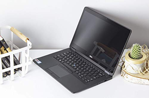 Dell Latitude E7470 Core i7 2,60GHz 14 Zoll QHD 2560x1440 Touchscreen Carbon 16GB 512GB SSD M.2 Windows 10 Pro BT HDMI Webcam (Generalüberholt)