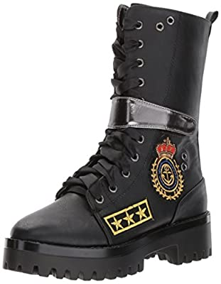 Penny Loves Kenny Women's Nomad Combat Boot, Black, 11 M US