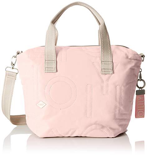 Oilily Damen Spell Handbag Mhz Henkeltasche, Pink (Rose), 15.0x23.0x37.0 cm