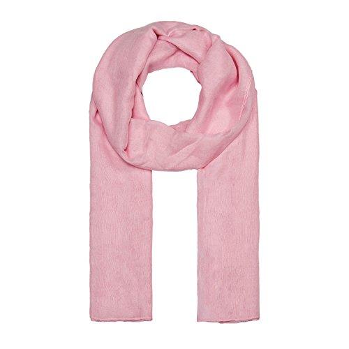 MANUMAR Bufanda mujer monocroma | bufanda de cuello en colores lisos como accesorio perfecto para el verano | clásica | estola | moda | idea de regalo para mujeres y niñas