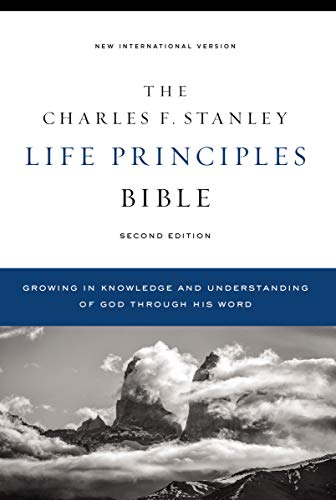 Compare Textbook Prices for NIV, Charles F. Stanley Life Principles Bible, , Hardcover, Comfort Print: Holy Bible, New International Version Second Edition ISBN 9780785225560 by Thomas Nelson
