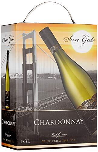 Sun Gate Chardonnay Blanc Kalifornien Weißwein (1 x 3 l)