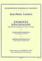 ロンデックス : イントネーションの練習 (サクソフォン教則本) ルデュック出版