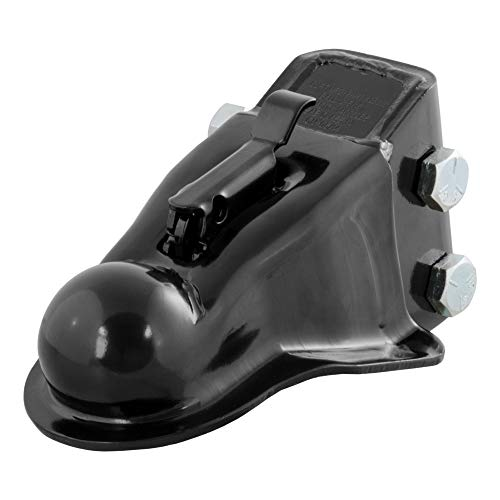 CURT 25330 Channel-Mount Adjustable Trailer Coupler, 2-5/16-Inch Hitch Ball, 14,000 lbs