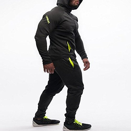 EVERWORTH-Mens-Gym-Workout-Hoodie-Jacket-Fitted-Training-Bodybuilding-Running-Active-Sweatshirts-with-Zipper-Pockets