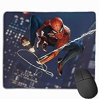 スパイダ3 マウスパッド 多用途の 耐久性が良い ゲーム オフィス用滑り止めラバー厚手マット 25x30x0.3cm