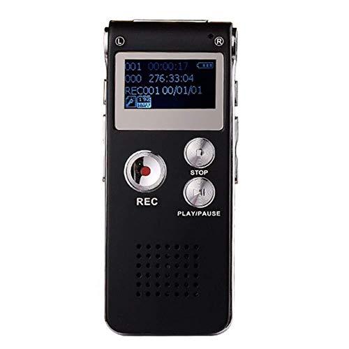 CFTGB dicteerapparaat mini digitaal professioneel audio dicteerapparaat 8 GB verborgen ingebouwde microfoon ruisonderdrukking voor het opnemen van leessessies