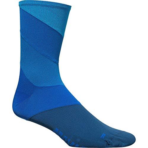MAVIC Graphic Stripes Fahrrad Socken blau 2020: Größe: S (35-38)