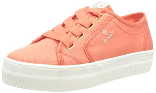 GANT Footwear Damen Leisha Sneaker, Orange (Clementine G493), 37 EU