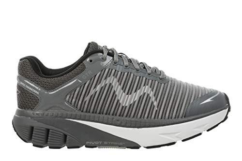 MBT Damen Sportschuhe GTR W, Frauen Funktionsschuhe, Gesundheitsschuhe abrollschuhe sportliche Laufschuhe Sneaker,TECH Grey,7.5 US, 5.5 UK